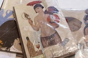 Kunstbuch von Helga Neukum in Wiebke Vogt's Atelier