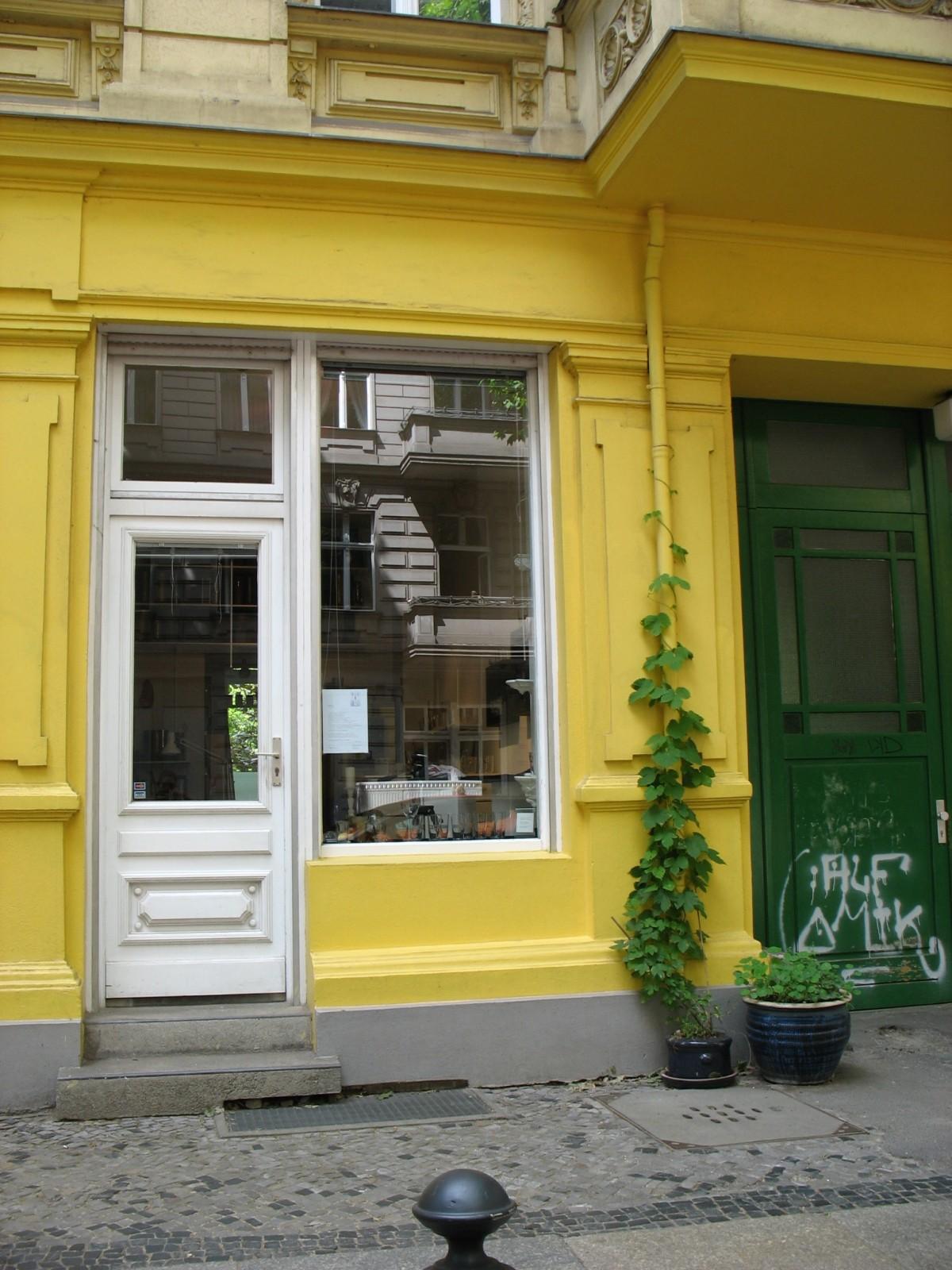 Atelier Danckelmannstr. Eingang