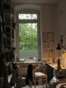 Atelier Raum 2 mit Stuhl