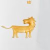 Glas Becher Sybol Löwe Lion