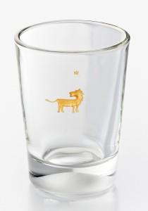 Glas Becher Löwe ©Wiebke Vogt