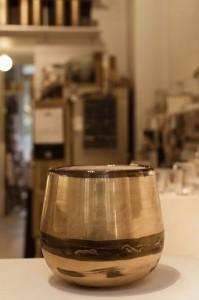 Grosses Glasgefäß H32cm, Ø ca 25 cm