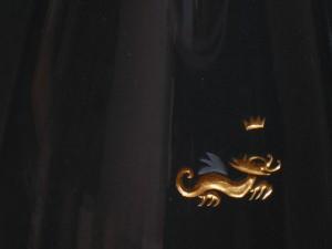 Detail Drachengravur